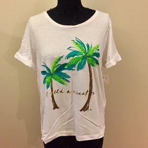 Kate Spade 'I Need A Vacation' T-Shirt